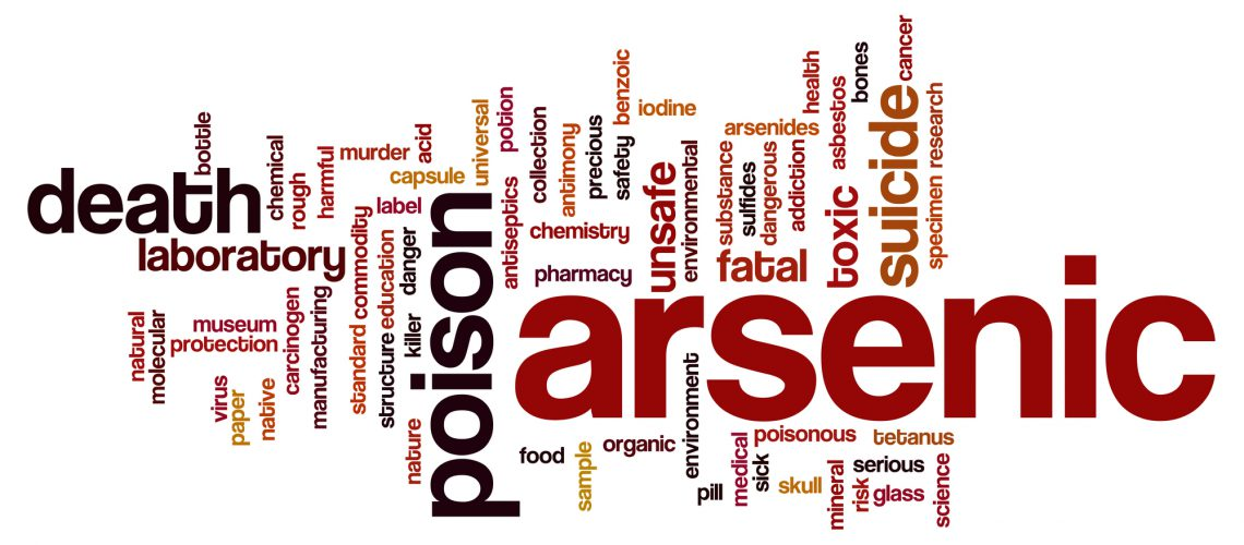 Arsenic word cloud concept