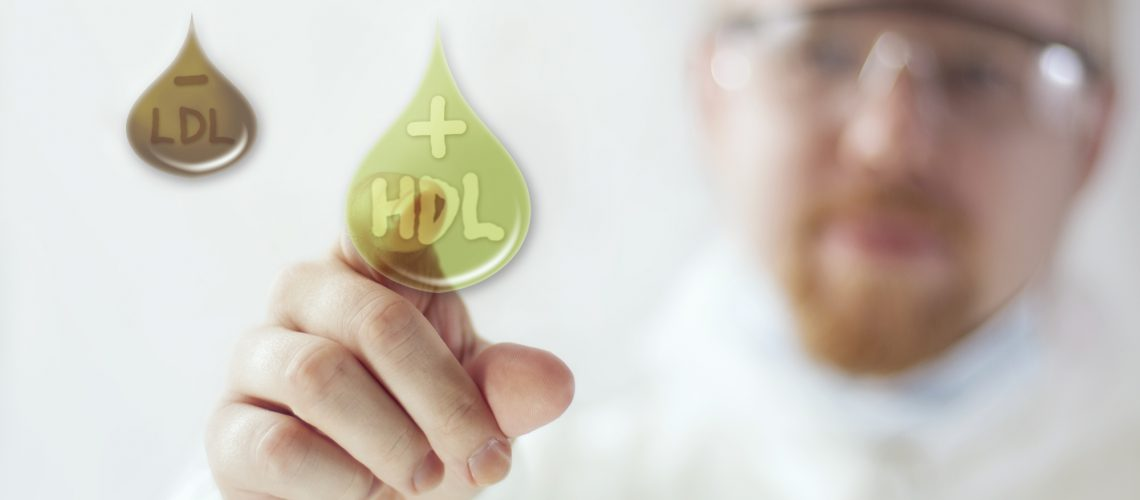 Selecting the Good Cholesterol HDL Over Darker Bad LDL