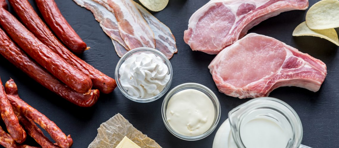 Sources of saturated fats